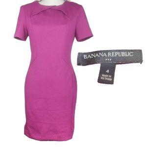 Banana Republic magenta Size 4 Dress